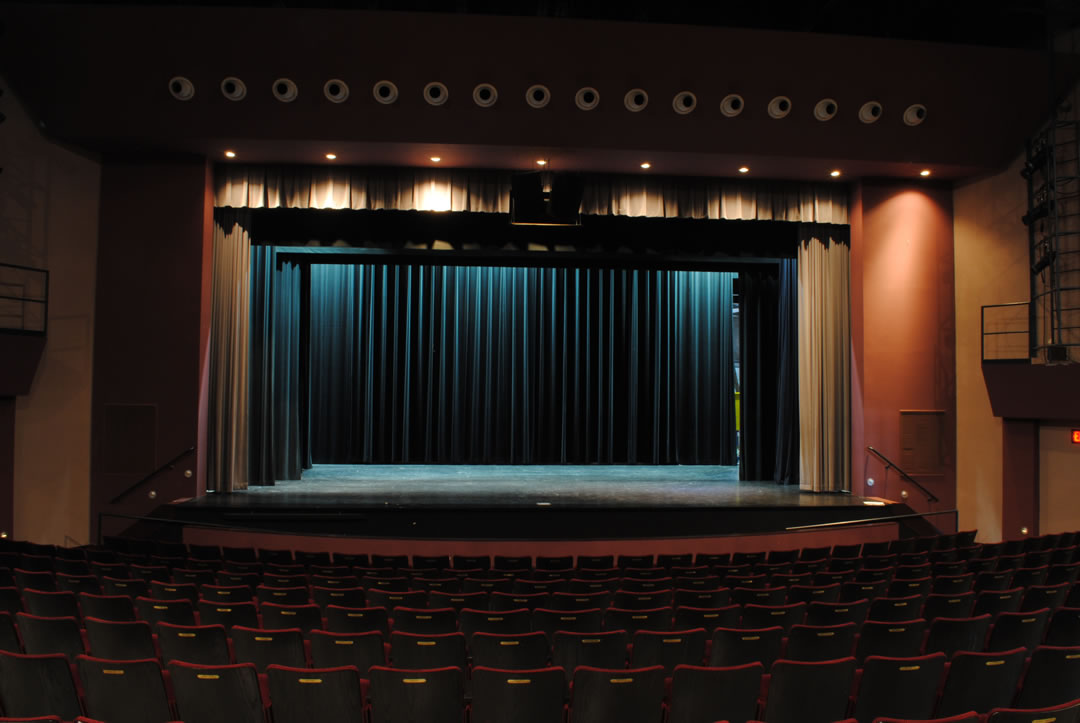 Photo of McComb/Bruchs Performing Arts Center Stage